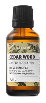 Picture of ESSENTIAL OIL CEDARWOOD KANAVOS 30ML