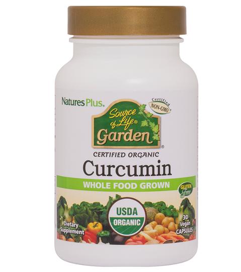 Picture of Natures Plus Source of Life Garden Curcumin 30vegcaps