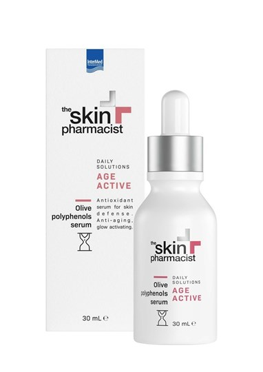 Picture of THE SKIN PHARMACIST ΑGE ACTIVE Olive Polyphenols Serum 30ML