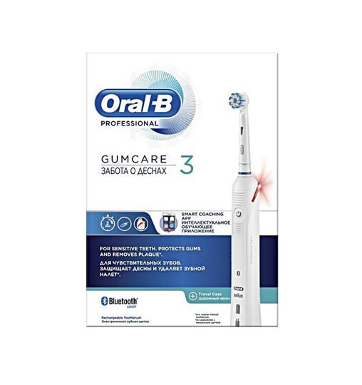 Picture of ORAL-B Professional Gum Care 3 Επαναφορτιζόμενη Ηλεκτρική Οδοντόβουρτσα 1τμχ