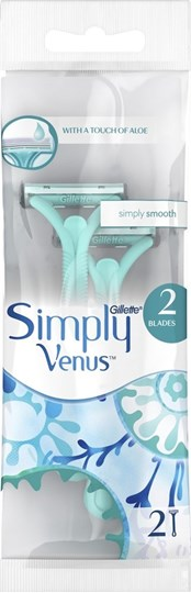 Picture of Gillette Simply Venus 2 Blades 2τμχ