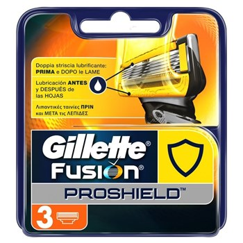 Picture of GILLETTE Fusion Proshield Ανταλλακτικές Κεφαλές 5 Λεπίδων 3 τεμ.