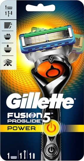 Picture of Gillette Fusion Proglide Power 5 Ξυριστική Μηχανή + 1 Ανταλλακτική Λεπίδα