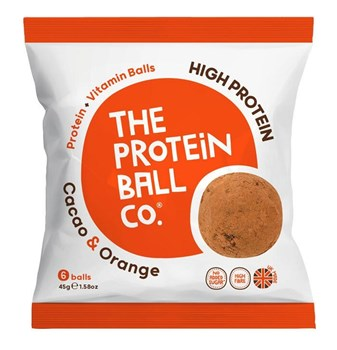 Picture of The Protein Ball Co Cacao Orange 45gr 6 balls