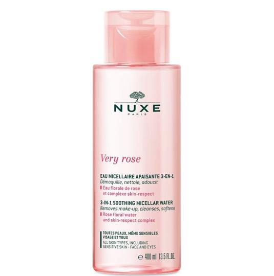Picture of Nuxe Very Rose 3-in-1 Soothing Micellar Water Μικυλλιακό Νερό Καθαρισμού για Πρόσωπο & Μάτια 400ml