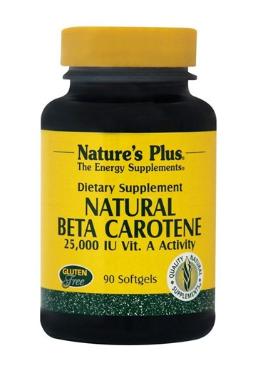 Picture of Natures Plus NATURAL BETA CAROTENE 90softgels