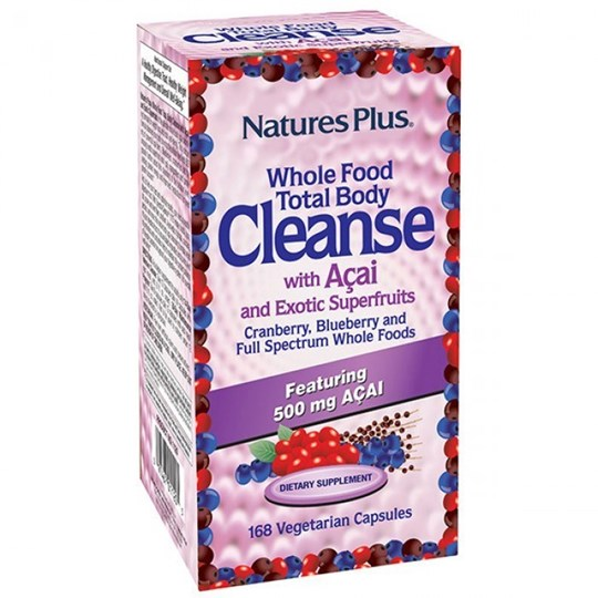 Picture of Nature's Plus TOTAL BODY CLEANSE 168vegcaps