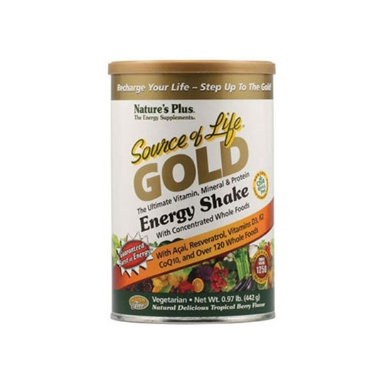 Picture of Natures Plus SOURCE OF LIFE GOLD Energy Shake 442gr