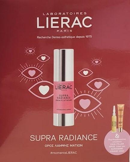 Picture of LIERAC Supra Radiance Serum 15ml & Cica-Filler 10ml & Sunissime Visage 10ml