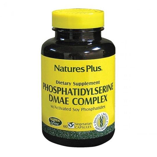 Picture of Natures Plus PHOSPHATIDYLSERINE/DMAE Complex 60 vegcaps