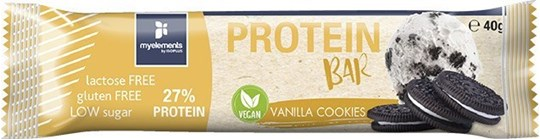 Picture of Myelements Vegan Protein 27% Βανίλια-Cookies 40gr
