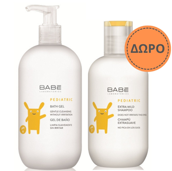 Picture of BABE LABORATORIOS BABE PROMO PACK BATH GEL 500ml + MILD SHAMPOO 200ml