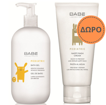Picture of BABE PROMO PACK BATH GEL 500ml + NAPPY CREAM 100ml