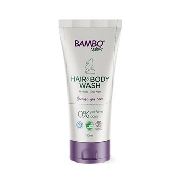 Picture of Αφροντούζ Bambo Nature  Bath Buddy Hair & Body Wash 150ml