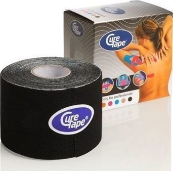 Picture of KINESIOLOGY CURE TAPE BLACK 5CMX5M