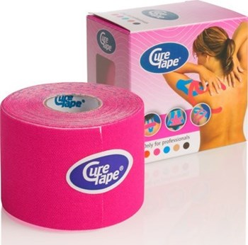 Picture of KINESIOLOGY CURE TAPE PINK 5CMX5M