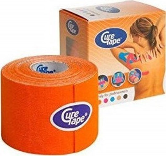Picture of KINESIOLOGY CURE TAPE ORANGE 5CMX5M