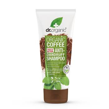 Picture of DR.ORGANIC Coffee Mint Anti-Dandruff Shampoo 200ml