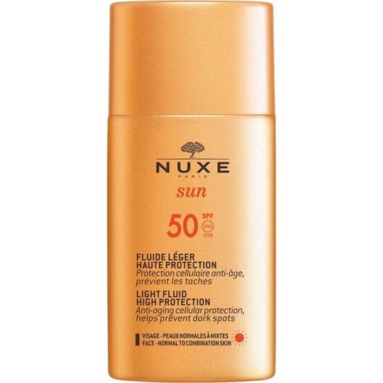 Picture of NUXE Sun Face Cream Fluide Leger SPF50 Αντηλιακό Προσώπου Ελαφριάς Υφής 50ml