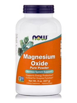 Picture of NOW Magnesium Oxide Pure Powder 227gr