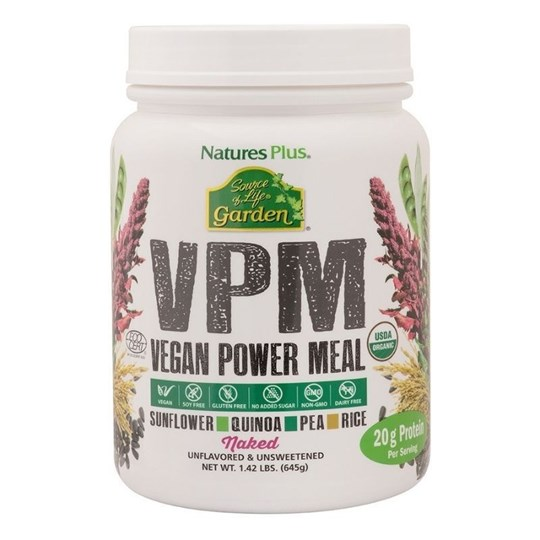 Picture of NATURE'S PLUS Plus Source of Life Garden VPM Naked Protein 645GR