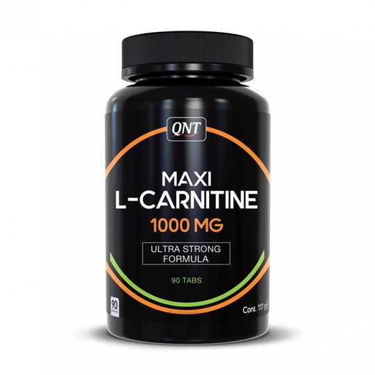 Picture of QNT Maxi L-Carnitine 1000 mg  90 tabs