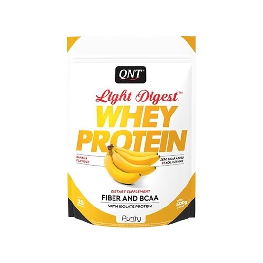 Picture of QNT Light Digest Whey Protein Banana 500gr