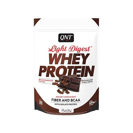 Picture of QNT Light Digest Whey Protein Belgian Chocolate 500gr