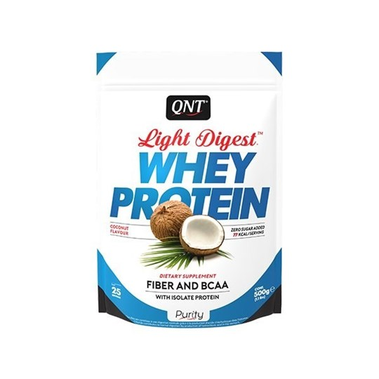 Picture of QNT Light Digest Whey Protein Coconut 500gr