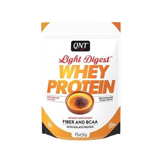 Picture of QNT Light Digest Whey Protein Crème brûlée 500gr
