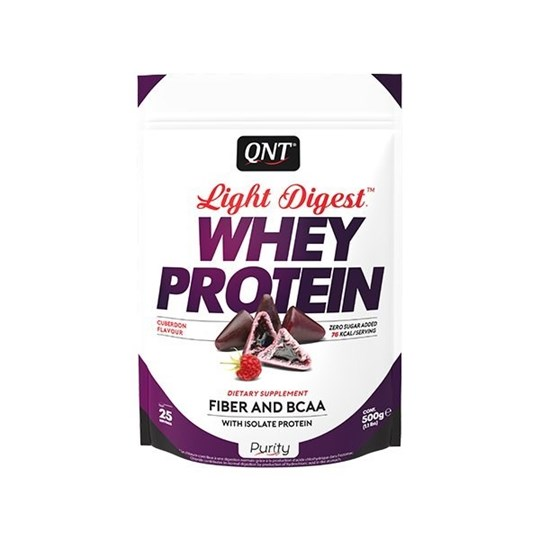 Picture of QNT Light Digest Whey Protein Cuberdon 500gr