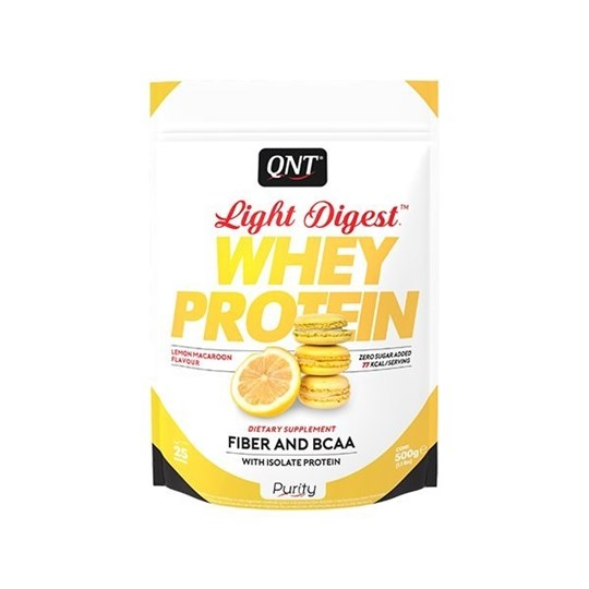 Picture of QNT Light Digest Whey Protein Lemon Macaroon 500gr