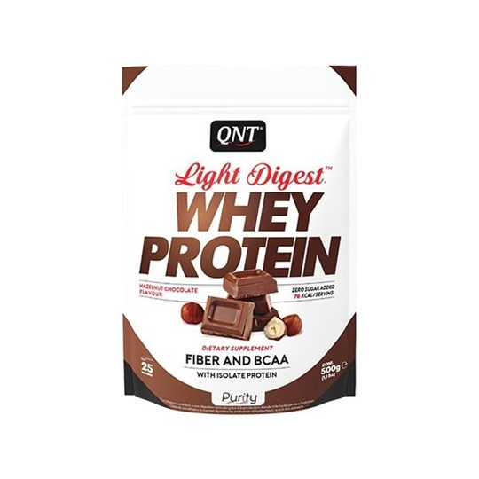 Picture of QNT Light Digest Whey Protein Hazelnut Chocolate 500gr