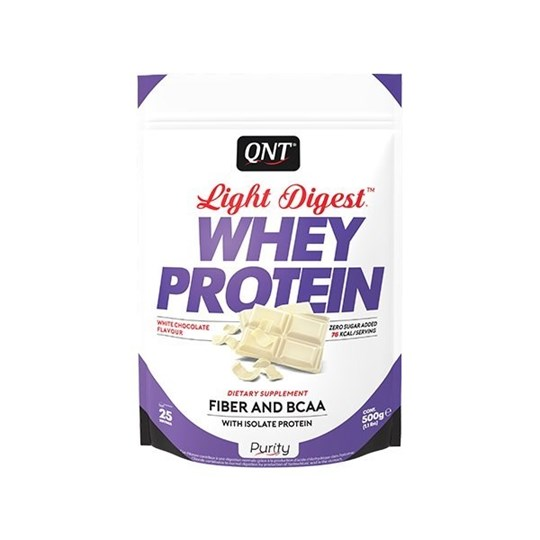 Picture of QNT Light Digest Whey Protein White Cocolate 500gr