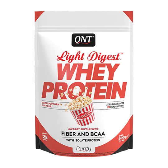 Picture of QNT Light Digest Whey Protein Sweet Popcorn 500gr