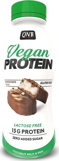 Picture of QNT Vegan Protein Shake Choco Coco 310ml
