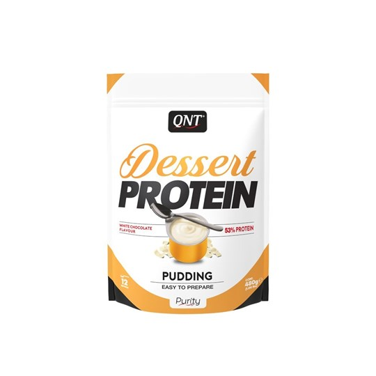 Picture of QNT Dessert Protein Pudding White Chocolate 480gr
