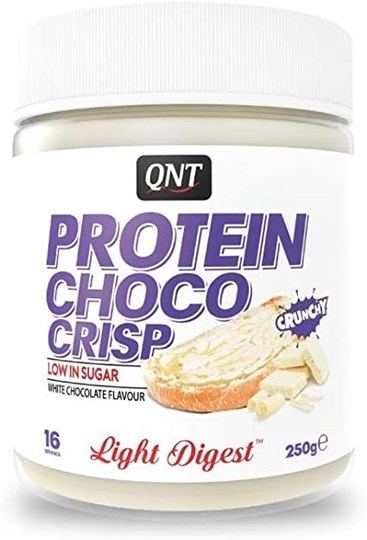 Picture of QNT Nutrition Protein Choco Spread crunchy white chocolate 250 gr
