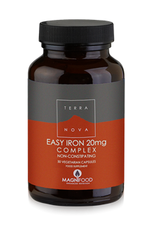 Picture of Terranova Easy Iron 20mg Complex 50 Κάψουλες