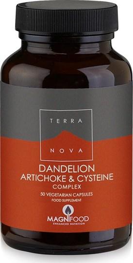 Picture of TerraNova Dandelion Artichoke & Cysteine 50 φυτικές κάψουλες