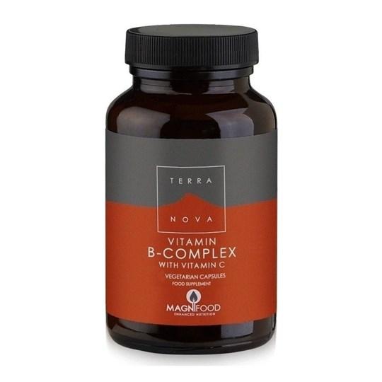 Picture of TERRANOVA Vitamin B-Complex with Vitamin C 50caps
