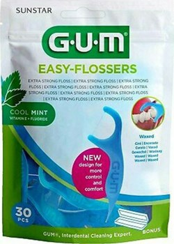 Picture of GUM 890 Easy Flossers Cool Mint 30τμχ