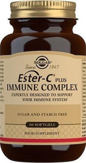Picture of Solgar Ester-C Plus Immune Complex 60 μαλακές κάψουλες