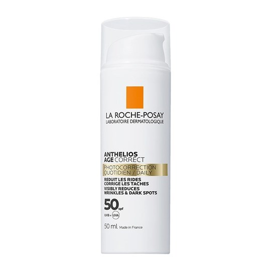 Picture of LA ROCHE POSAY Anthelios Age Correct Visibly Reduces Wrinkles & Dark spots SPF50 50ml