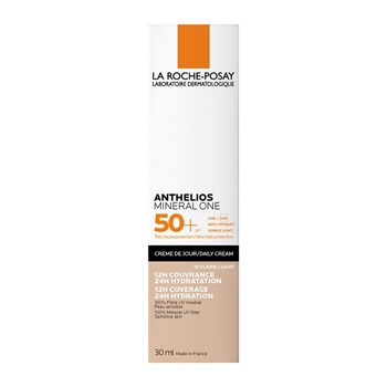 Picture of La Roche Posay Anthelios Mineral One Daily Cream SPF50+ Αντηλιακή Ενυδατική Κρέμα Προσώπου Με Χρώμα Light 01 30ml