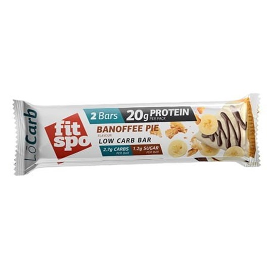 Picture of Fit Spo Lo Carb Protein Bar 60gr Banoffe Pie