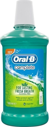 Picture of ORAL-B ΣΤΟΜΑΤΙΚΟ ΔΙΑΛΥΜΑ COMPLETE 500ML