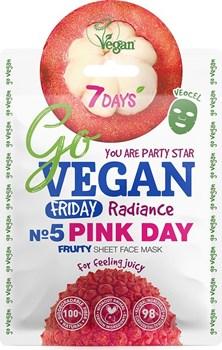 Picture of 7 Days Go Vegan Pink Day 25gr Μάσκα Ομορφιάς