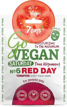 Picture of 7 Days Go Vegan Red Day 25gr Μάσκα Ομορφιάς