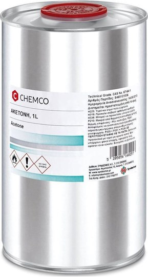 Picture of Chemco Acetone 1000ml ΑΚΕΤΟΝΗ